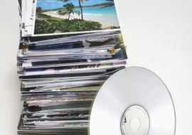 Consider using a DVD, which has a larger storage capacity than a CD.