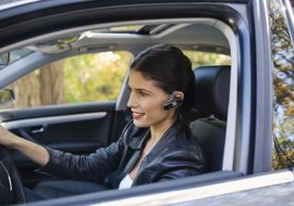 Use your Bluetooth headset to listen to your iPod.