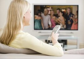 Enhance your television viewing with HD from Comcast or Verizon.