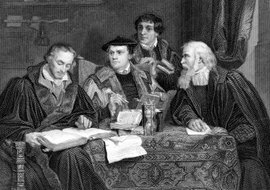 Religious leaders in disagreement with the Catholic Church initiated the Protestant Reformation.