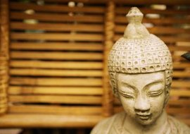 Zen is a more stripped-down version of Buddhism.