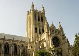 Washington National Cathedral in Washington, D.C., is one of America's most prestigious and well-known churches.