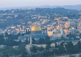 The city of Jerusalem has special significance to Judaism, Christianity and Islam.
