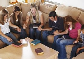 "A Facebook page can act as an ""account"" for the youth group."