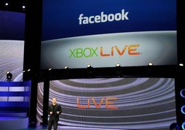 Basic access to Xbox LIVE is free, but a Gold membership is required to use Facebook.