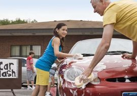 The value of a donation is reduced if it directly benefits you, such as receiving a car wash.