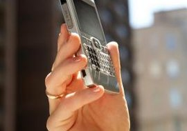 Several BlackBerry phones offer Wi-Fi connectivity.