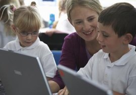 Technology encourages students to make inquiries according to their own interests and learning styles.