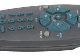 Universal remotes allow several devices to be controlled with one remote.