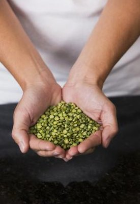 Nutritional Value of Dried Green Peas