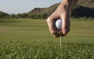 How to Clean Golf Tees
