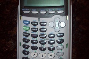 TI-84 Plus Graphing Calculator by Texas Instruments.