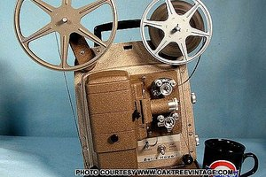 This is the projector my Dad had for home movies
