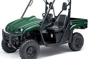 The Yamaha 660 is a larger, more capable vehicle than the Rhino 450.