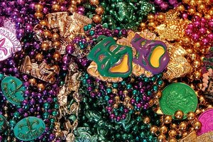 History of Mardi Gras Beads