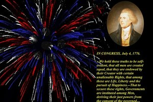"The rights to ""life, liberty and the pursuit of happiness"" are enshrined in the U.S. Declaration of Independence."