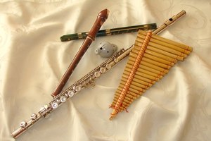 Various cultures have their own styles of flute.