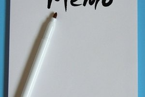 How to Write a Memo to Teachers