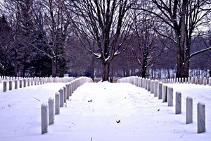 The Secretary of Veterans Affairs supervises the extensive National Cemetery system.