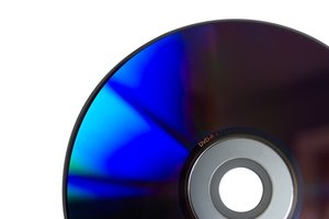 You can burn files to a writable DVD disc.
