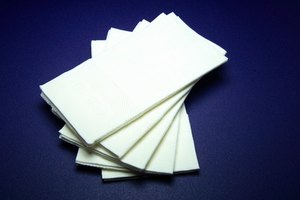 Learn how to fold paper napkins for your next event.