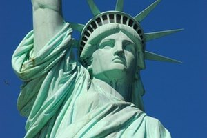 The Statue of Liberty is a symbol of America's democracy and freedom.