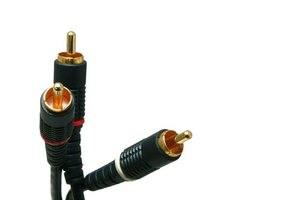 Connect equipment to your television with RCA cables.
