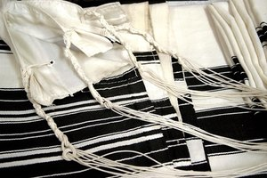 The fringes are the most important part of the prayer shawl.
