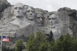 The Black Hills of South Dakota are home to Mount Rushmore.