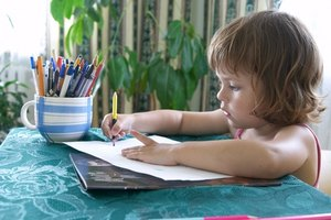 Chidren learn in a warm and stimulating environment