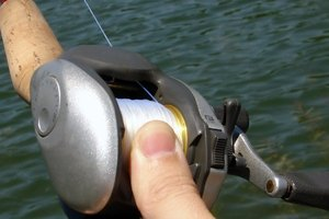 The Silver Max is a baitcasting reel that anglers use for species like bass and northern pike.
