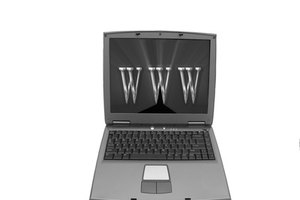 Active web pages are viewable on the Internet.