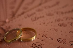 Convalidation of marriage invitations can be worded in a variety of ways.