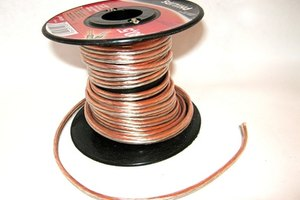Use two-strand speaker wire to connect the Polk system.