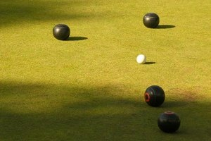 Indoor bowls is very similar to outdoor bowls.