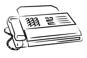 The Windows Fax program replaces the traditional paper fax machine.
