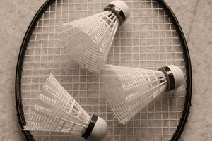 Badminton is a popular outdoor recreational activity.