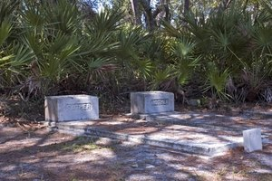 A grave blanket covers the area where a loved one is buried.