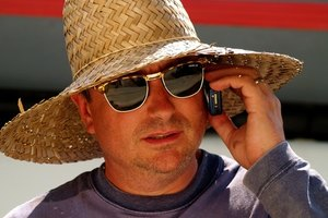 Speaking on the phone is an adult English speaking activity.