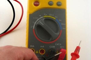 Use a multimeter to test a starter solenoid.