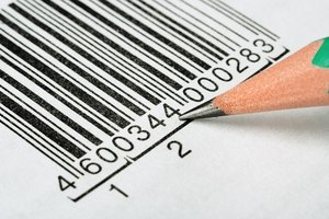 A POS system reads bar codes and uploads bar code data into the POS program.