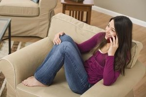 Playing games over the phone with your girlfriend can help keep communication exciting and interesting.