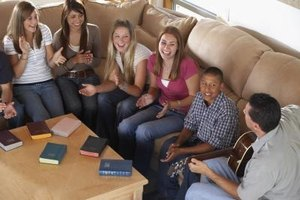 Church youth ministry can provide a positive experience for children and teenagers.