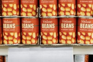 Canned beans come in their own cooking pot!