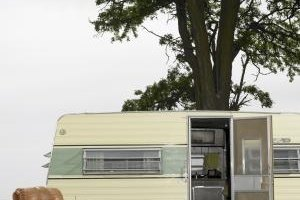 Travel trailers are registered like automobiles and utility trailers.
