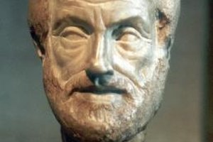 A bust of Aristotle, the originator of Virtue Ethics.