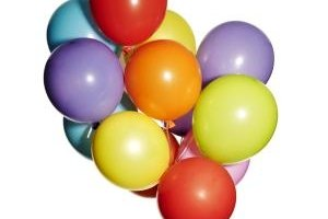 Use balloons in communication activities for groups.