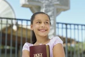 Games can help children understand the role of the Holy Spirit.