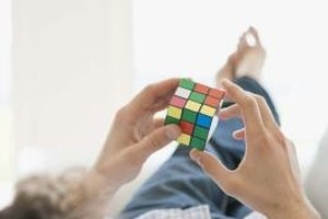 Rubik's Cube Science Fair Project Ideas