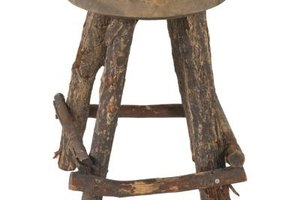 A stool is a good example of an assembly for QuickBooks purposes.